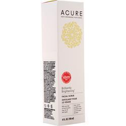 Acure Brightening Facial Scrub 4 fl.oz