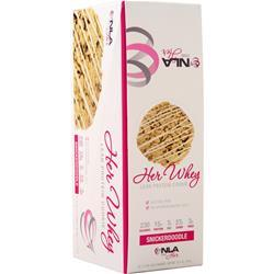 NLA For Her Her Whey - Lean Protein Cookie Snickerdoodle 12 pack
