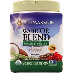 SunWarrior Warrior Blend - Plant Based Organic Protein Vanilla 750 grams