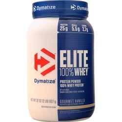 Dymatize Nutrition Elite 100% Whey Protein Cinnamon Bun 5 lbs