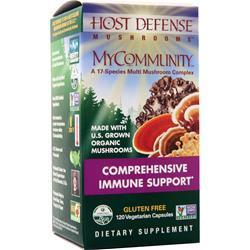Host Defense Mushrooms - My Community Comprehensive Immune Support 120 vcaps