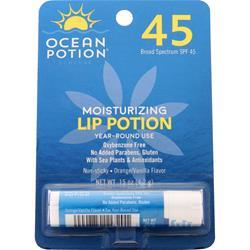Ocean Potion Moisturizing Lip Potion SPF 45 Orange/Vanilla 15 oz