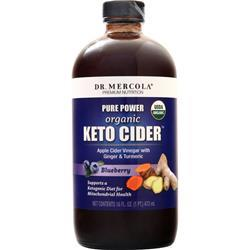 Dr. Mercola Pure Power Organic Keto Cider Blueberry 16 fl.oz