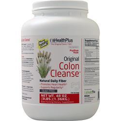 Health Plus Colon Cleanse Powder Original 48 oz
