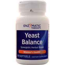 Enzymatic Therapy Yeast Balance - Women's Health 90 sgels
