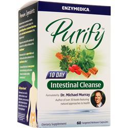 Enzymedica Purify - 10 Day Intestinal Cleanse 60 caps