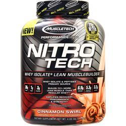 Muscletech Nitro Tech - Performance Series Cinnamon Swirl 4 lbs