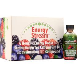 Irwin Naturals Energy Stream - Red Mixed Berry 12 bttls