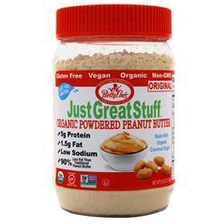 Betty Lou's Just Great Stuff - Powdered Organic Peanut Butter Original 180 grams