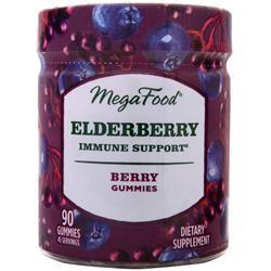 Megafood Elderberry Immune Support Gummies Berry 90 gummy