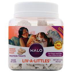 Halo Liv-a-Littles Whole Chicken Breast 2.2 oz