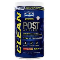 Trace Minerals Research Clean Post Workout Strawberry Lemonade 16.2 oz