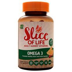 Hero Slice of Life - Omega 3 Natural Cran-Orange 60 gummy