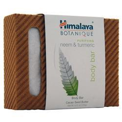 Himalaya Botanique - Handcrafted Cleansing Bar Purifying Neem & Turmeric BEST BY 8/19 4.41 oz