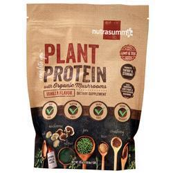 Nutrasumma Plant Protein with Organic Mushrooms Vanilla 1.19 lbs