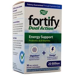 Nature's Way Fortify Dual Action - Energy Support (20 Billion) 30 vcaps