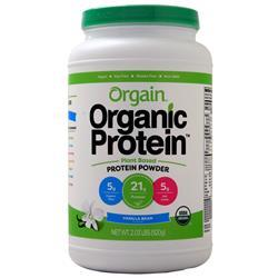 Orgain Organic Protein - Plant Based Powder Creamy Chocolate Fudge 2.03 lbs