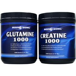 BODYSTRONG Creatine/Glutamine Combo Pack 1 pck
