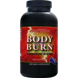 BODYSTRONG Body Burn with Free T-Shirt Men's Medium 240 caps