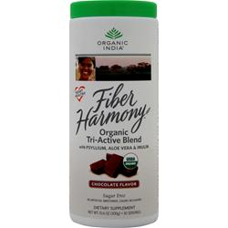 Organic India Fiber Harmony Organic Tri-Active Blend Chocolate 10.6 oz