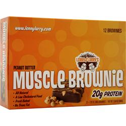 LENNY AND LARRY'S Muscle Brownie Peanut Butter 12 pckts