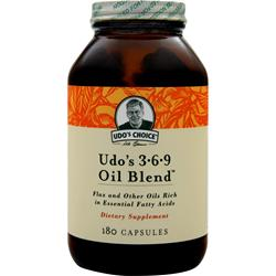FLORA Udo's 3-6-9 Oil Blend EXPIRES 12/15 180 caps