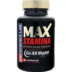 MD SCIENCE LABS MAX Stamina 30 caps