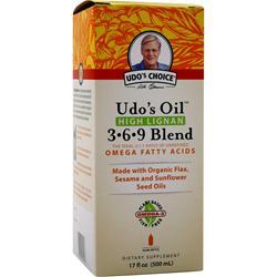 Flora Udo's Oil High Lignan 3-6-9 Blend 17 fl.oz