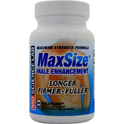 MD SCIENCE LABS MaxSize 60 tabs