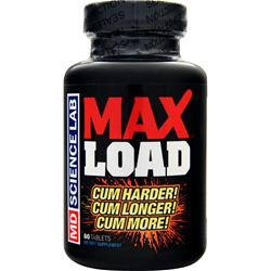 MD SCIENCE LABS MAX Load 60 tabs