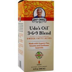 Flora Udo's Oil 3-6-9 Blend Liquid 32 fl.oz