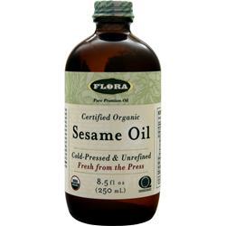 Flora Certified Organic Sesame Oil 8.5 fl.oz