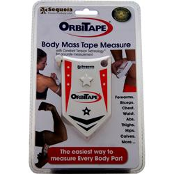 SEQUOIA FITNESS PRODUCTS OrbiTape - Body Mass Tape Measure 1 unit