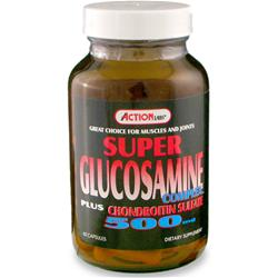 ACTION LABS Super Glucosamine plus Chondroitin (500mg) 60 caps