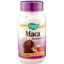 Nature's Way Maca - Standardized Extract 60 caps