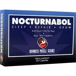 ADVANCED MUSCLE SCIENCE Nocturnabol 30 caps