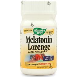 NATURE'S WAY Melatonin 100 lzngs