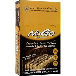 NUGO NUTRITION NuGo Bar Peanut Butter Chocolate 15 bars