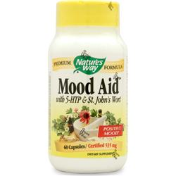 NATURE'S WAY Mood Aid w/ 5-HTP & St. John's Wort 60 caps