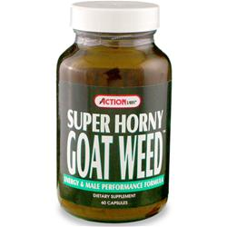 ACTION LABS Super Horny Goat Weed 60 caps