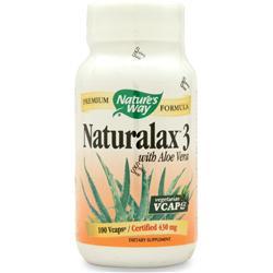 Nature's Way Naturalax 3 100 vcaps