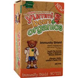 YUMMI BEARS Organic Immunity Shield 90 bears