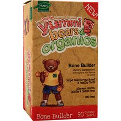 YUMMI BEARS Organic Bone Builder 90 bears