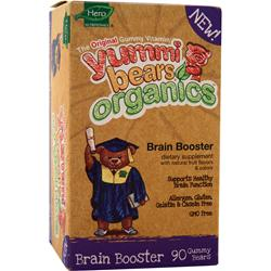 YUMMI BEARS Organic Brain Booster 90 bears