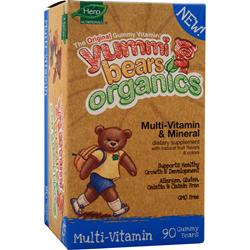YUMMI BEARS Organic Multi-Vitamin and Mineral 90 bears