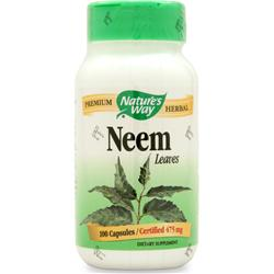 NATURE'S WAY Neem Leaves 100 caps
