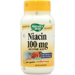 NATURE'S WAY Niacin (100mg) 100 caps