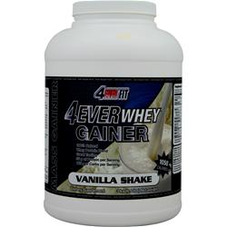 4 EVER FIT 4Ever Whey Gainer Vanilla Shake 6.6 lbs