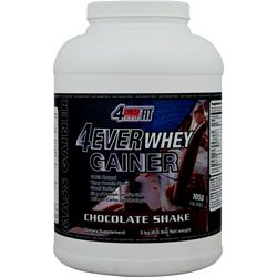 4 Ever Fit 4Ever Whey Gainer Chocolate Shake 6.6 lbs