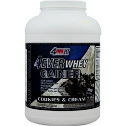 4 EVER FIT 4Ever Whey Gainer Cookies and Cream 6.6 lbs